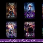 New Covers For The Shadow Demons Saga!