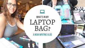 What's In My Laptop Bag   New Writing Vlog